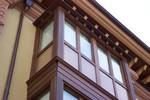 монтиране на луксозна дървена дограма