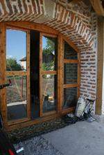 производство на луксозна дървена плъзгаща се врата