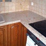 кухненски плот - облицовка с гранит