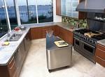 пользовательские кухня мрамора