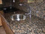 кухненски плот - облицоване с мрамор