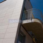 облицоване на фасада с алуминиеви композитни панели