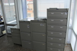 Офис метален шкаф за папки дизайнерски Пловдив