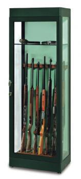 сейф GALAXY Стъклена витрина с подпори за оръжие