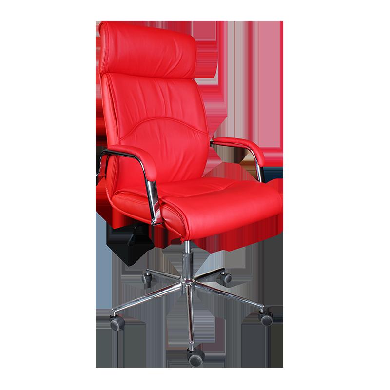 Офис столове - Президентски стол Carmen 6050 - червен