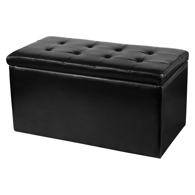 Холни ъгли и гарнитури - Пейка с ракла и 2 табуретки SMART - черно
