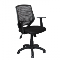 Офис стол Carmen 7010 - черен