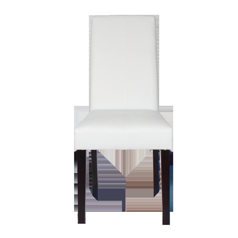 Трапезни столове - Трапезен стол Carmen 6019 - бял