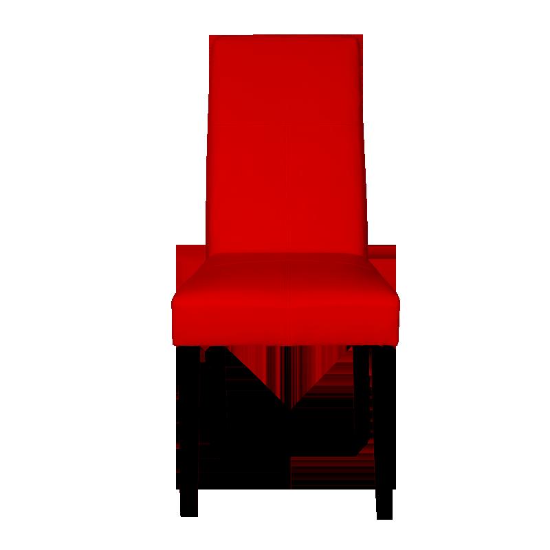 Трапезни столове - Трапезен стол Carmen 6019 - червен