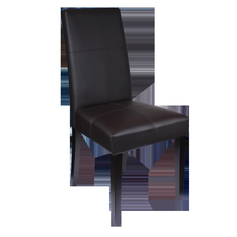 Трапезни столове - Трапезен стол Carmen 6019 - шоколад