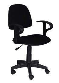 Офис столове - Офис стол Carmen 6012 - черен