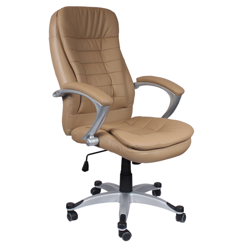 Офис столове - Президентски стол Carmen 6013 - бежов