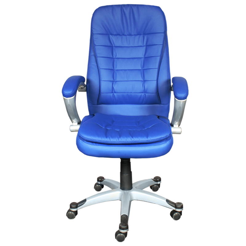 Офис столове - Президентски стол Carmen 6013 - син