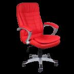 Офис столове - Президентски стол Carmen 6013 - червен