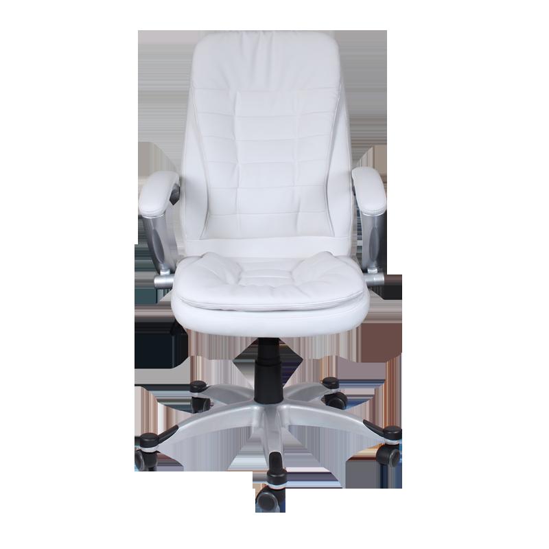 Офис столове - Президентски стол Carmen 6013 - бял