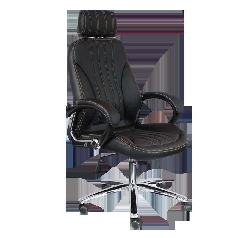 Офис столове - Президентски стол Carmen 6058 - черен