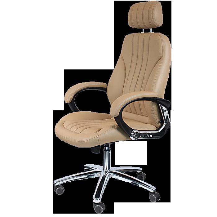 Офис столове - Президентски стол Carmen 6058  - бежов
