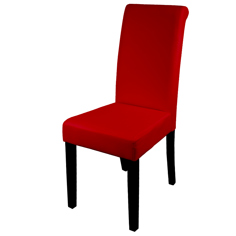Трапезни столове - Трапезен стол Carmen 6090 - червен