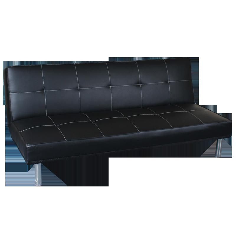 Холни ъгли и гарнитури - Разтегателен диван Carmen 6026 - черно