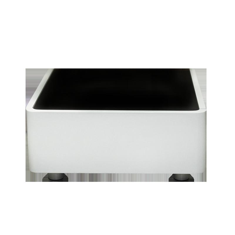Спални - Нощен шкаф A83 -бяло / черно