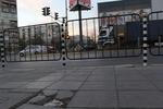 изработка на тръбно-решетъчни парапети 1,80м x 0,80м за тротоари и пътища