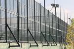 метална мрежа за спортни игрища