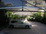 мембранна конструкция за паркинг