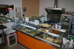 Стъклена топла витрина по поръчка за бързо хранене