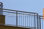 метален парапет за тераса