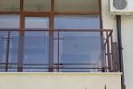 парапети за тераси от метал и стъкло по поръчка