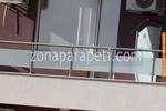 изработка на парапети за тераси от инокс и матово стъкло