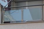 изработване на парапети от инокс и стъкло