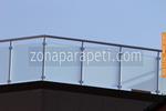 производство на парапети от инокс и стъкло