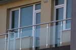 изработка на терасни алуминииови парапети от алуминии и стъкло