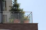 фирма за парапети за тераси от стъкло и неръждаема стомана