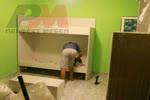 Дизайнерски двуетажни мебели за деца