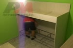 Уникална детска стая с двойно легло