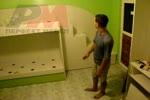 Детски стаи с легло на два етажа по поръчка