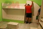 Модел детска стая с двуетажно легло