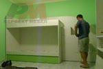 Детски мебели двуетажни по индивидуален проект