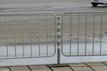 тръбно-решетъчни парапети 1,80м x 1,00м за тротоари и пътища