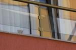 парапети за балкони от стъкло и неръждаема стомана по поръчка