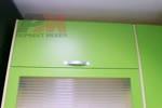 Шкафове за кухни от ПДЧ рамка и стъкло