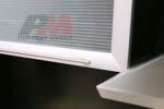 Врата на шкаф за кухня със стъкло