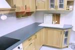 Г-образна кухня по индивидуален проект