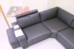 Ъглова мека мебел за дневна