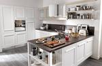солидни бели ретро кухни модерни