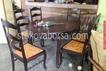 луксозни маси със столове по поръчка от масив