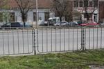 тръбно-решетъчни парапети 1,80м x 0,80м за тротоари и пътища
