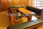 Маса с пейки за механа или кръчма изработени от дървен материал